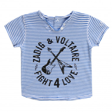 T-shirt in cotone a righe ZADIG & VOLTAIRE Per UNISEX