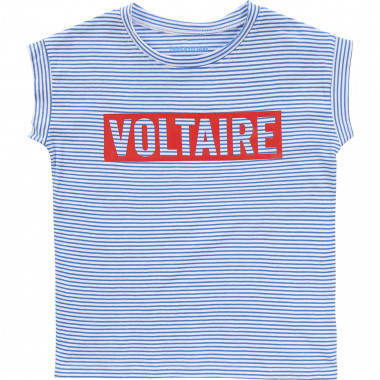 T-shirt larga a righe ZADIG & VOLTAIRE Per BAMBINA