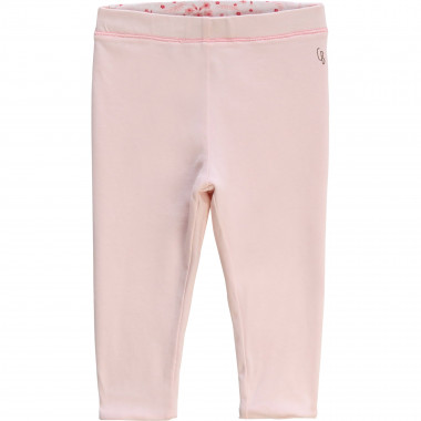 Leggings double-face in cotone CARREMENT BEAU Per BAMBINA