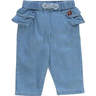 Pantaloni in denim leggero CARREMENT BEAU Per BAMBINA