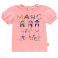 T-shirt a maniche corte THE MARC JACOBS Per BAMBINA