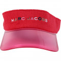 Visiera in spugna ricamata THE MARC JACOBS Per BAMBINA