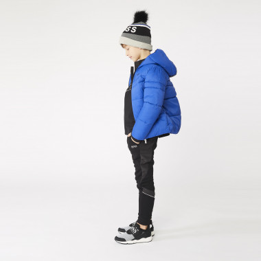Lined cotton hat BOSS for BOY