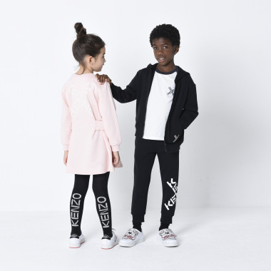 Cotton joggers KENZO KIDS for GIRL