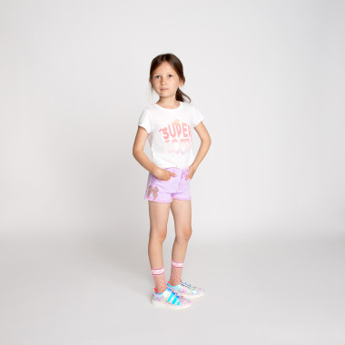 Sequined cotton T-shirt BILLIEBLUSH for GIRL