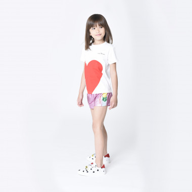 Metallic color block shorts THE MARC JACOBS for GIRL