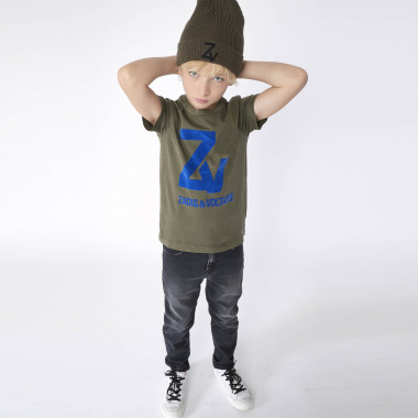 SHORT SLEEVES TEE-SHIRT ZADIG & VOLTAIRE for BOY