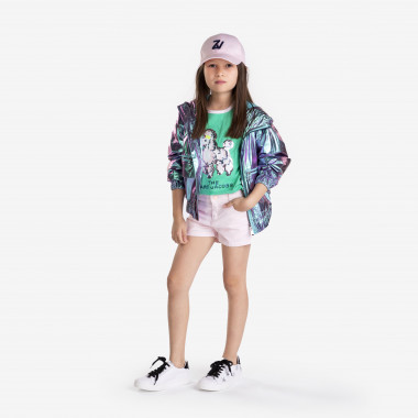 Embroidered drill shorts CARREMENT BEAU for GIRL