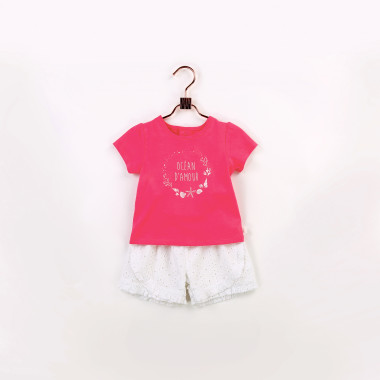 Broderie anglaise shorts CARREMENT BEAU for GIRL