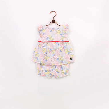 Blouse and bloomer set CARREMENT BEAU for GIRL