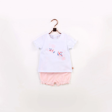 T-shirt and bloomers set CARREMENT BEAU for GIRL