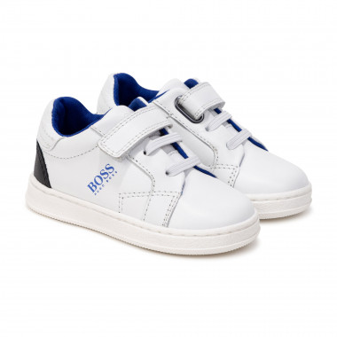 Leather sneakers BOSS for BOY