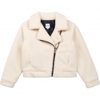 Sherpa-style jacket BOSS for GIRL