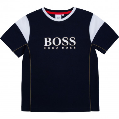 T-shirt with logo print BOSS for BOY