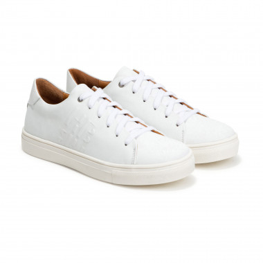 Lace-up leather sneakers BOSS for BOY