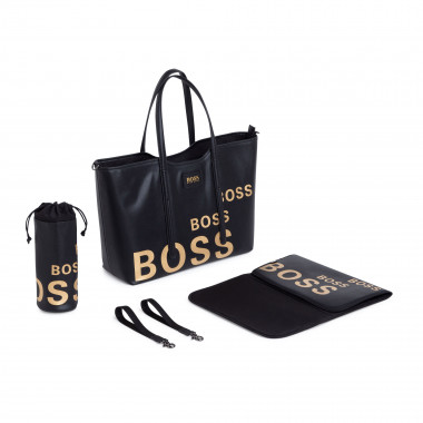 magnetized zip-up changing bag BOSS for UNISEX