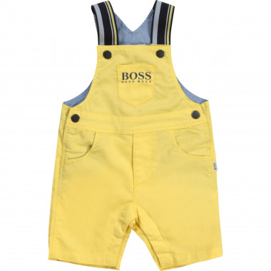 Cotton twill overalls BOSS for BOY
