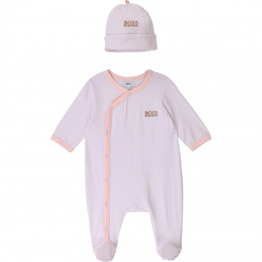 Jersey pajamas and cap set BOSS for UNISEX