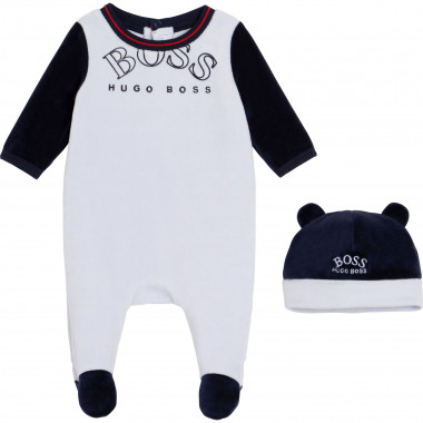 pajama and hat set BOSS for BOY