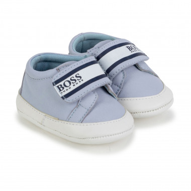 Baby shoes with hook and loop fastening BOSS for BOY