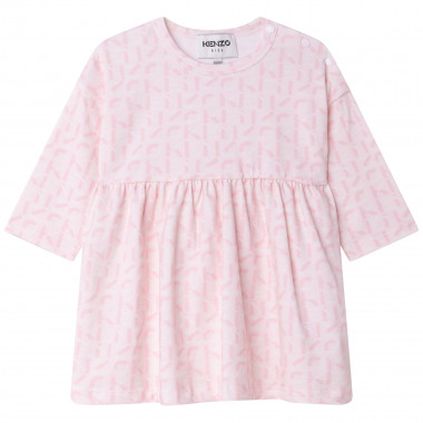 Loose stretch dress KENZO KIDS for GIRL