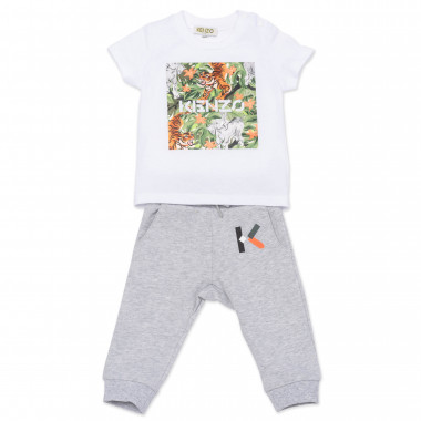 T-shirt and jogger set KENZO KIDS for BOY