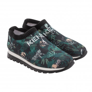 elastic shoes with logo KENZO KIDS for UNISEX