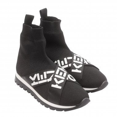 knit high-top sneakers KENZO KIDS for UNISEX