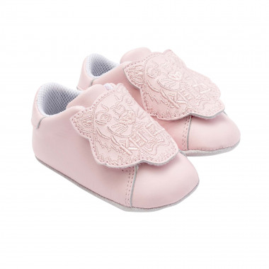 Embroidered leather slippers KENZO KIDS for GIRL