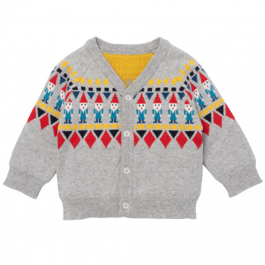Cotton and cashmere cardigan PAUL SMITH JUNIOR for BOY