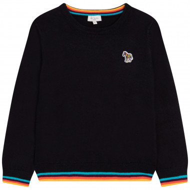 Cotton and cashmere tricot sweater PAUL SMITH JUNIOR for BOY
