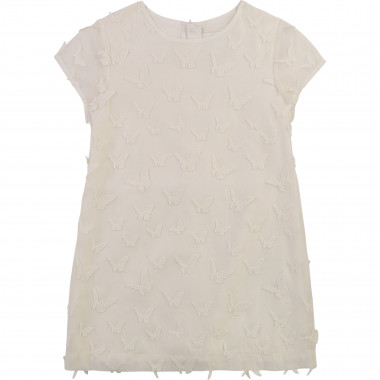 Embroidered organza dress CHARABIA for GIRL