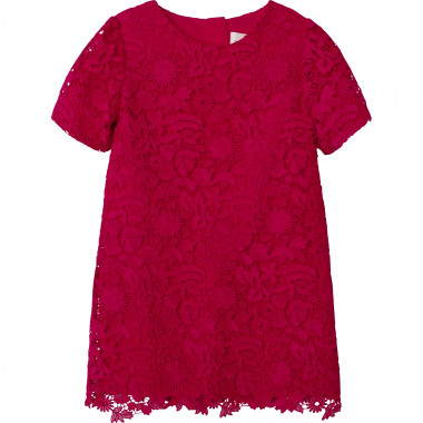 Floral guipure lace dress CHARABIA for GIRL