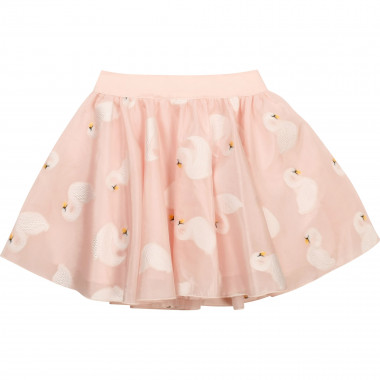Embroidered organza skirt CHARABIA for GIRL