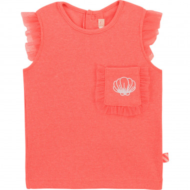 Vest top with tulle frills BILLIEBLUSH for GIRL