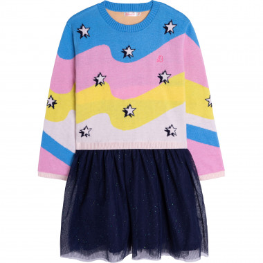 Knit and tulle dress BILLIEBLUSH for GIRL