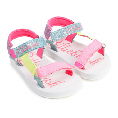 Sequined strappy sandals BILLIEBLUSH for GIRL