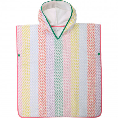 Hooded beach poncho THE MARC JACOBS for GIRL
