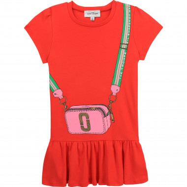 Cotton interlock dress THE MARC JACOBS for GIRL