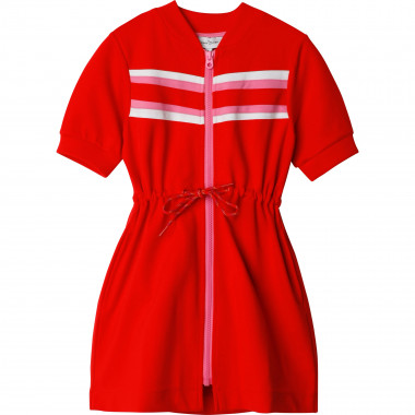 Zipped milano knit dress THE MARC JACOBS for GIRL
