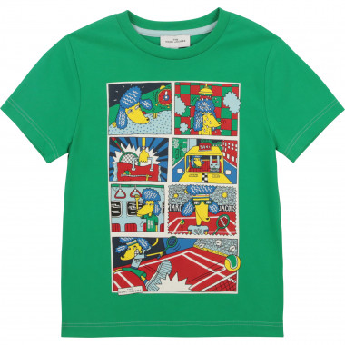 Printed cotton T-shirt THE MARC JACOBS for BOY
