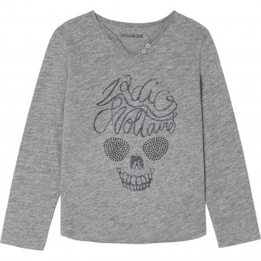 LONG SLEEVE T-SHIRT ZADIG & VOLTAIRE for GIRL