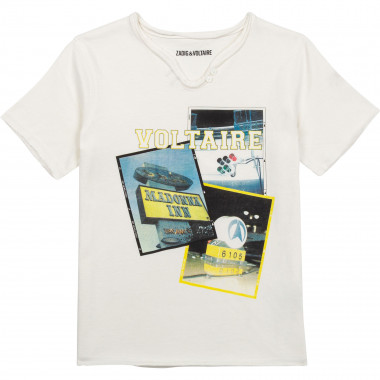 Photo print t-shirt ZADIG & VOLTAIRE for BOY