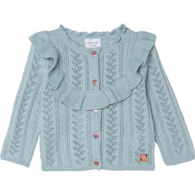 Knit cardigan CARREMENT BEAU for GIRL