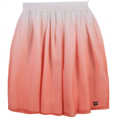 Dip-dyed voile skirt CARREMENT BEAU for GIRL