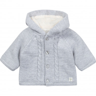 KNITTED JACKET CARREMENT BEAU for BOY