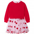 2-in-1 heart dress CHARABIA for GIRL