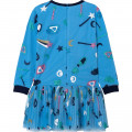 Motif-decorated tulle dress BILLIEBLUSH for GIRL