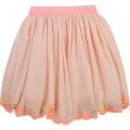 Embroidered cotton party skirt BILLIEBLUSH for GIRL