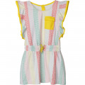 Striped terrycloth dress THE MARC JACOBS for GIRL